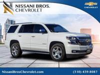 New Price! Summit White 2017 Chevrolet Tahoe Premier