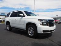 Come see this 2017 Chevrolet Tahoe LT. Its Automatic