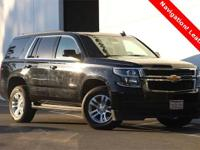 2017 Chevrolet Tahoe LT!!! Navigation!!! Heated Leather