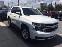 For a smoother ride, opt for this 2017 Chevrolet Tahoe
