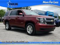 New Price! This 2017 Chevrolet Tahoe LT in Red