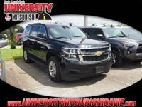 **HAGGLE FREE PRICING** Black 2017 Chevrolet Tahoe