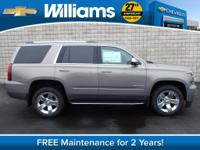 Options:  2017 Chevrolet Tahoe