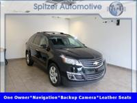 Chevrolet Traverse Premier CARFAX One-Owner. Clean