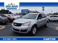 This Chevrolet Traverse has a powerful Gas V6 3.6L/217