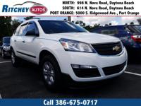 CERTIFIED PRE OWNED 2017 CHEVY TRAVERSE LS**LOW