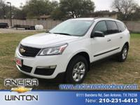This new Chevrolet Traverse LS is now for sale in San