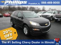 Options:  2017 Chevrolet Traverse Ls|Tungsten