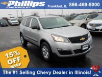 Options:  2017 Chevrolet Traverse Ls|Silver Ice