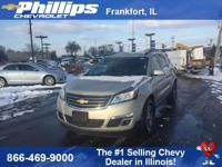 New Price! Tan 2017 Chevrolet Traverse LT Cloth 1LT AWD