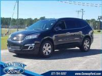 Black Metallic 2017 Chevrolet Traverse LT 1LT AWD