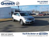 Introducing the 2017 Chevrolet Traverse LT w/1LT!