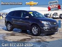 2017 Traverse 1LT - Clean CARFAX One Owner **AWD**Rear