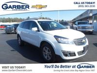 ONE OWNER CARFAX and Bluetooth for Phone. Traverse LT