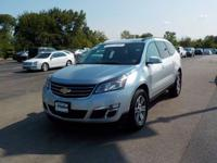 Options:  2017 Chevrolet Traverse Lt|Silver|Awd.