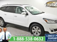 Recent Arrival! 2017 Chevrolet Traverse White,
