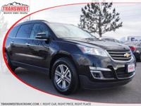 Options:  2017 Chevrolet Traverse Lt W/2Lt|Black|Black