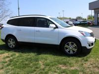 Traverse 2LT, AWD, Heated Seats, Bose Audio,Power