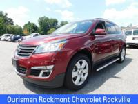 Siren Red Tintcoat 2017 Chevrolet Traverse LT **SEE