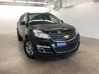 Black 2017 Chevrolet Traverse LT 1LT FWD 6-Speed