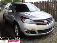 2017+Chevrolet+Traverse+LT+In+Silver+Ice+Metallic.+Your