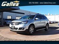 Safe and reliable, this 2017 Chevrolet Traverse LT FWD