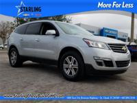 New Price! This 2017 Chevrolet Traverse 2LT in Silver
