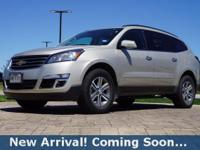 2017 Chevrolet Traverse LT in Champagne Silver