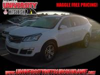 **HAGGLE FEE PRICING** 2017 Chevy Traverse 2LT with 10