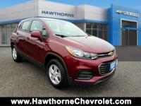 CERTIFIEDCarfax One Owner 2017 Chevrolet Trax LS AWD