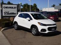 Options:  2017 Chevrolet Trax Fwd 4Dr Ls Used|White