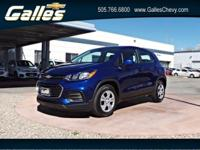 Come see this 2017 Chevrolet Trax LS. Its Automatic