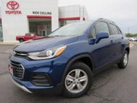 This sporty 2017 Chevrolet Trax comes equipped with