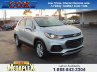 New Price! This 2017 Chevrolet Trax LT in Nightfall