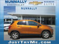 CARFAX One-Owner. Clean CARFAX. Orange 2017 Chevrolet