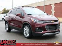 CARFAX One-Owner. Crimson Metallic 2017 Chevrolet Trax