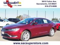 WOW LOOK AT THE MILES !!!! 2017 Chrysler 200 Limited.