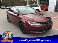 Touring trim, Velvet Red Pearl Coat exterior. Keyless