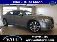 300C, LEATHER, NAVIGATION, ADAPTIVE CRUISE, BLIND SPOT,