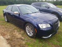 Jazz Blue Pearlcoat 2017 Chrysler 300C RWD 8-Speed