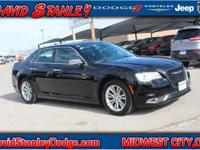 CARFAX One-Owner. Clean CARFAX. Black 2017 Chrysler