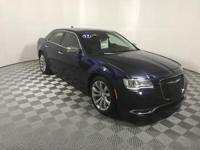 CARFAX One-Owner. Clean CARFAX. Blue 2017 Chrysler 300C