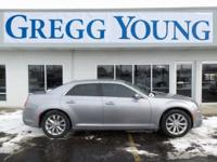 Silver 2017 Chrysler 300 Limited AWD 8-Speed Automatic