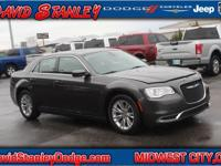CARFAX One-Owner. Clean CARFAX. Gray 2017 Chrysler 300