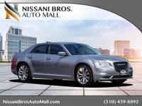 CARFAX One-Owner. Silver 2017 Chrysler 300 Limited RWD