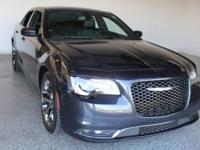 2017 Chrysler 300 S 4D Sedan Maximum Steel Metallic