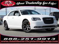 Options:  2017 Chrysler 300 S|White|Certified
