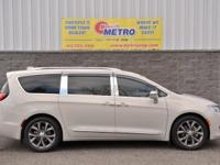White 2017 Chrysler Pacifica Limited !!!! FWD 9-Speed