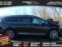 Options:  2017 Chrysler Pacifica