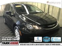 2017 Chrysler Pacifica LX in Black. CARFAX One-Owner.